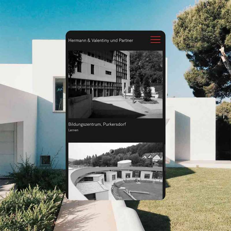 Funktion Studio – HV Architekten Grafik Design